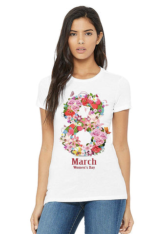 FancyDressWale Internationl Women's Day T-Shirts Women's Day