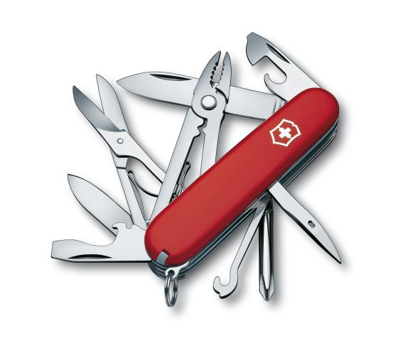 Victorinox Deluxe Tinker (Red) Swiss Army Knife 1.4723-033-X1