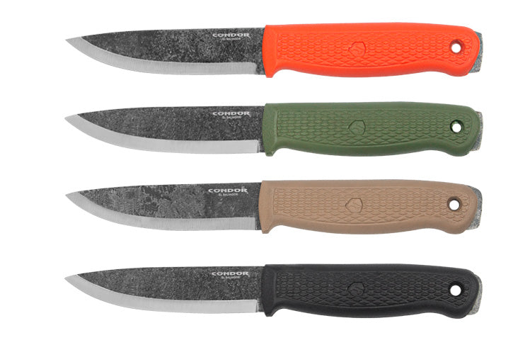 "Condor Terrasaur Fixed Blade Knife Army Green (4.25"" Gray) CTK3943-4.1"