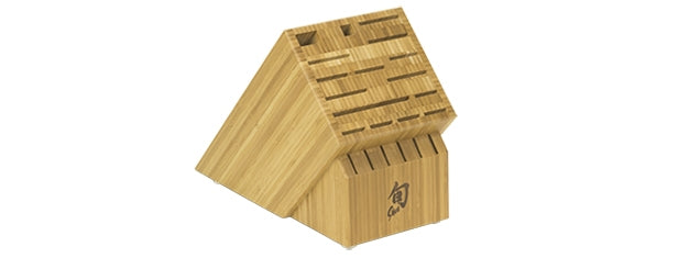 Shun 22-Slot Bamboo Block DM0832