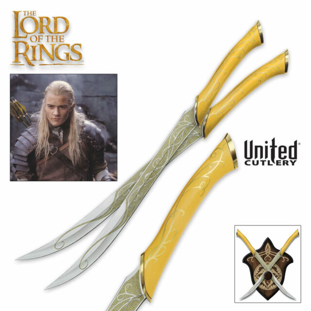 United Cutlery LOTR Fighting Knives of Legolas Greenleaf UC1372