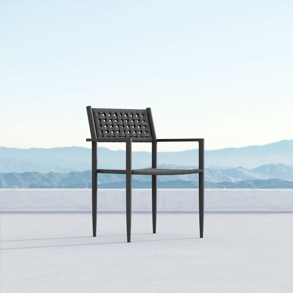 Naples | Dining Chair x4 - Charcoal