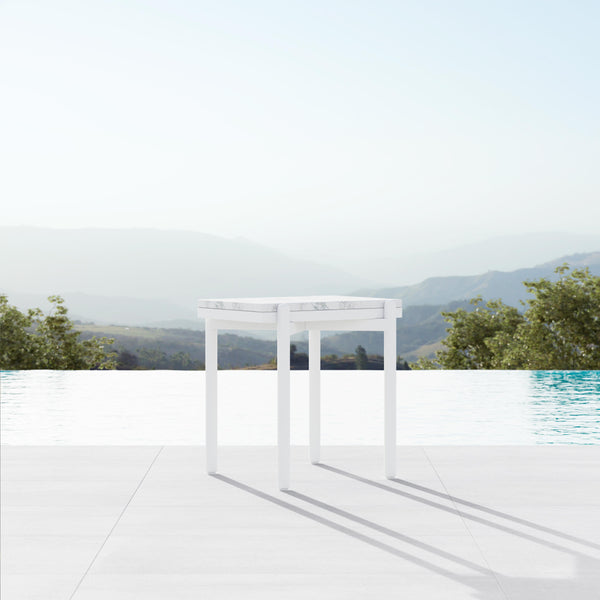 Verano | Side Table - White