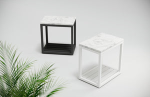 Seaview | Side Table - White
