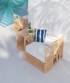 Calamus | End Table - Azzurro Living