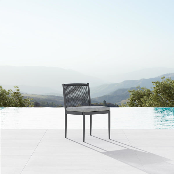 Catalina | Dining Armless Chair - Ash - Azzurro Living