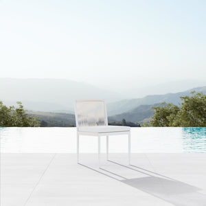 Catalina | Dining Armless Chair - Sand - Azzurro Living