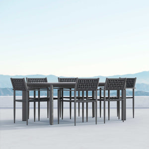 Naples | Dining Chair x2 - Charcoal - Azzurro Living