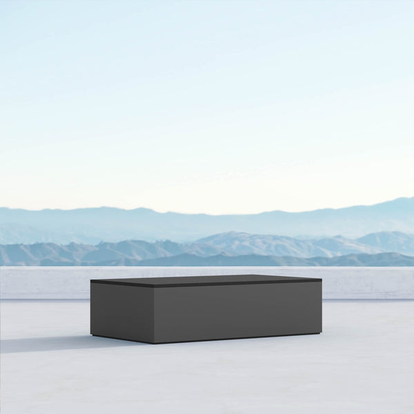 Porto | Coffee Table - Charcoal - Azzurro Living