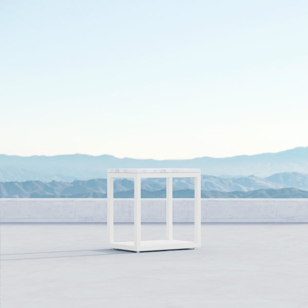Seaview | Side Table - White - Azzurro Living