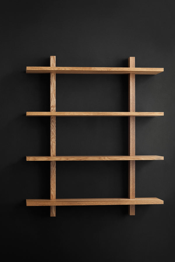 KBH Shelf - medium fumed oak