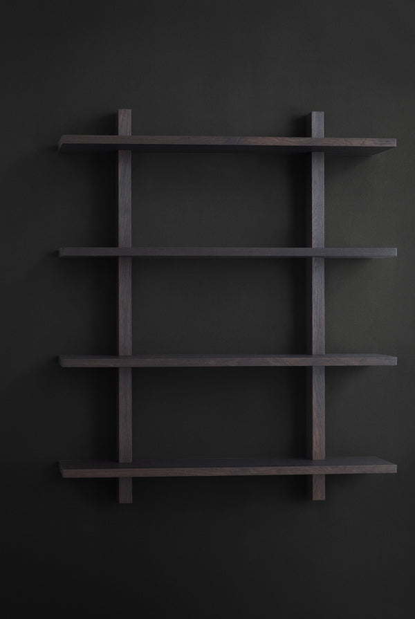 KBH Shelf - fumed oak