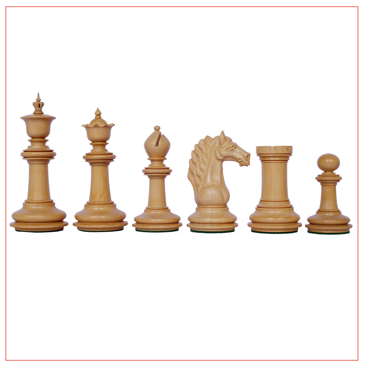 Macedon Series Premium Staunton 4.4 Chess set