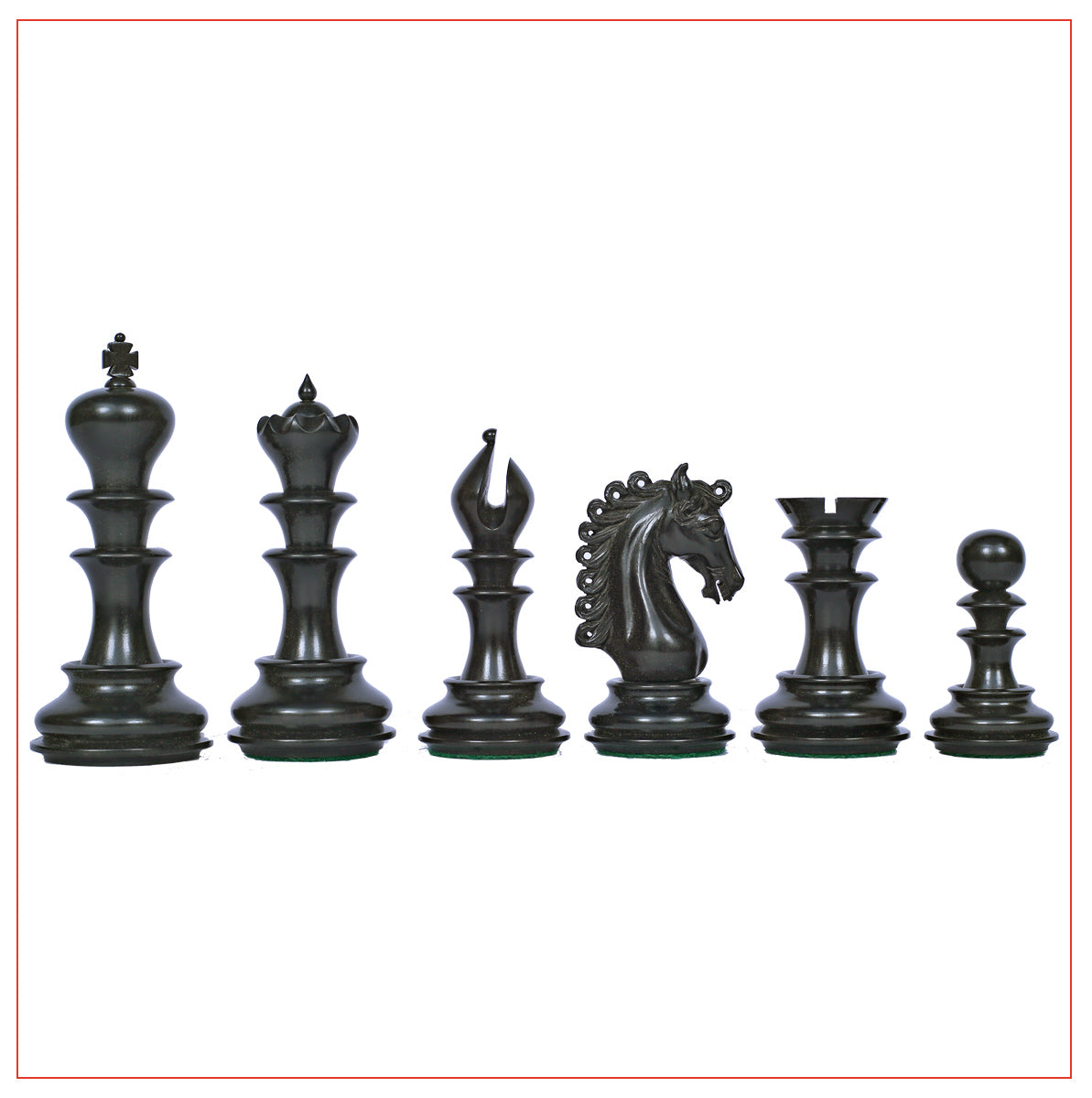 Ostia Series Premium Staunton 4.4 Chess Set