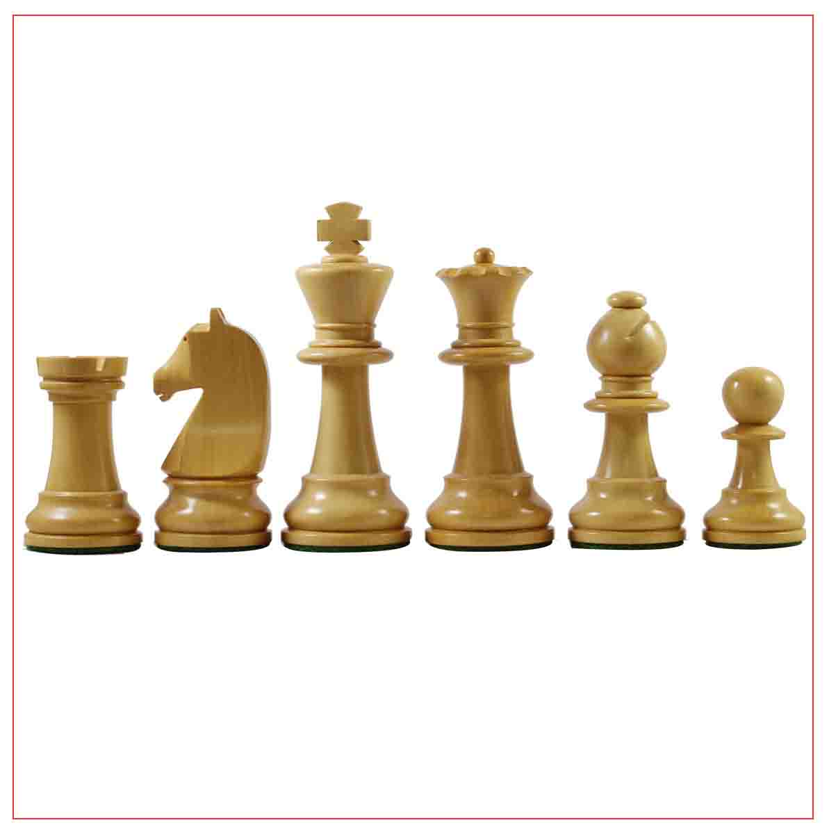 "Chavet 3.75"" Reproduction Chess Set"