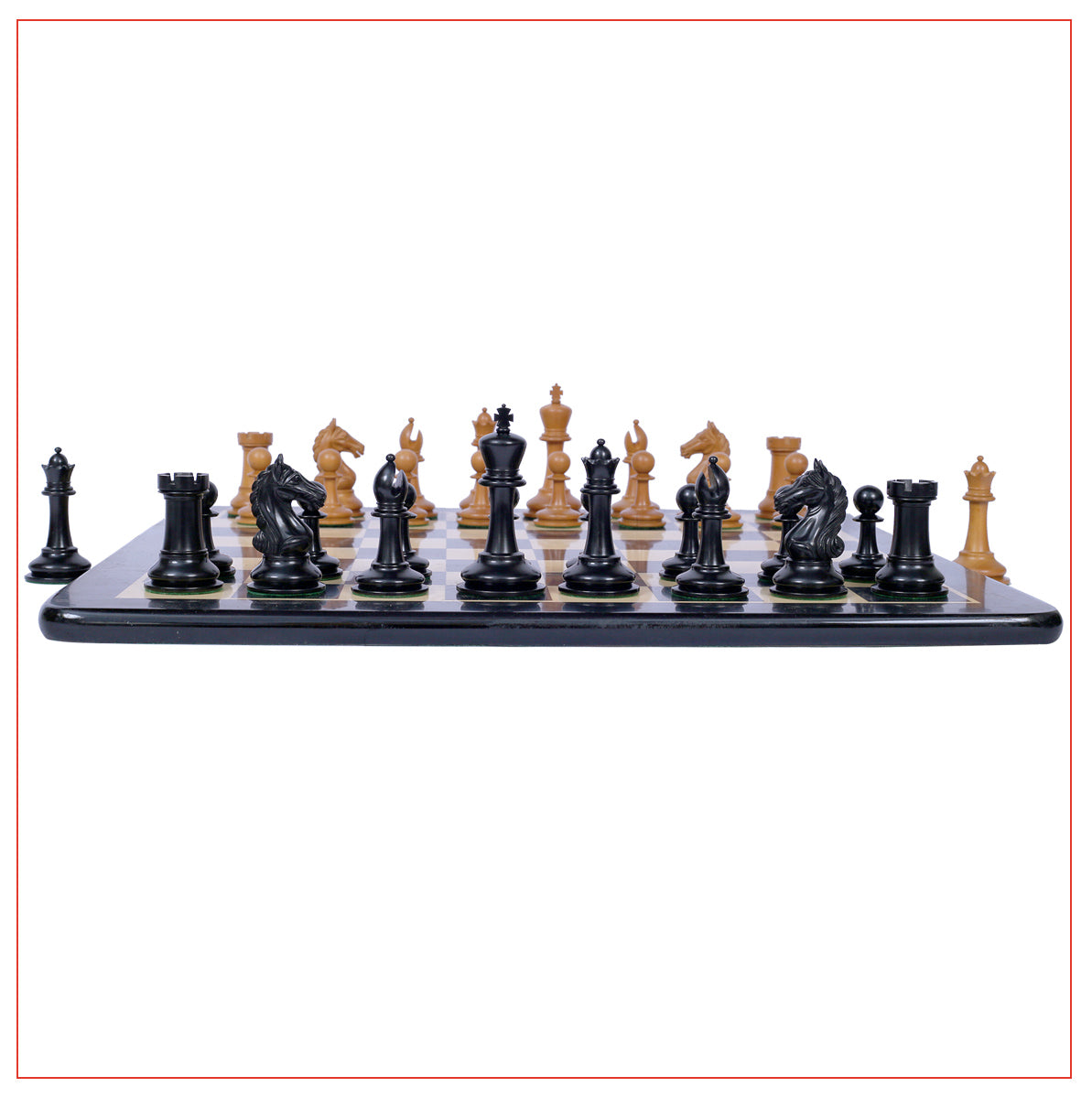 Antique Warrior Chess Set