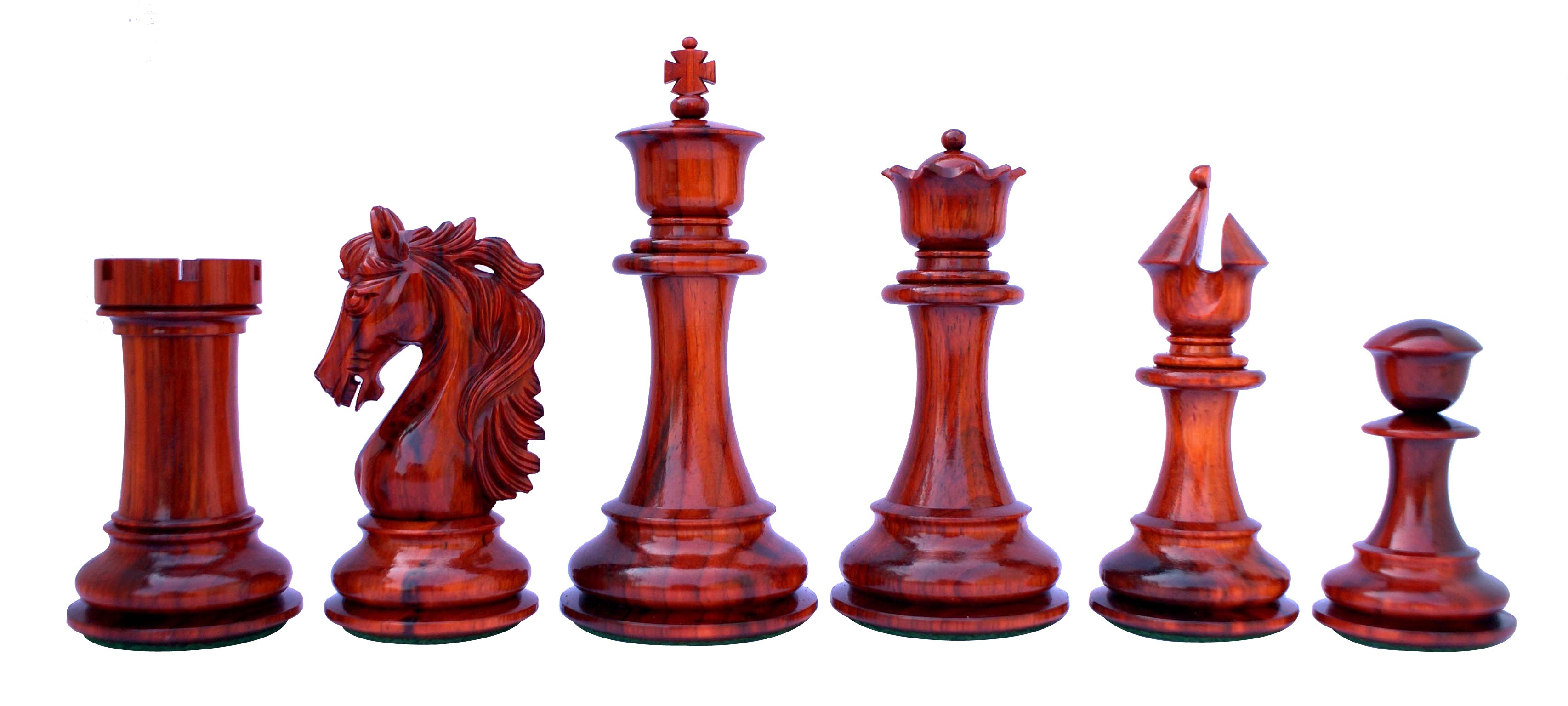 "Heritage Series 4.4"" Premium Staunton Chess Set"