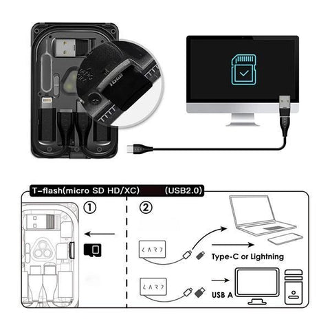 wireless charging can be used after the power is plugged in