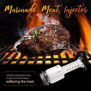 2 in 1 Marinade Meat Injector and Meat Tenderizer