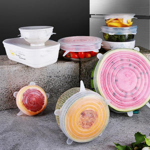 50% OFF-Kitchen Silicone Stretch Lids- Upgraded material