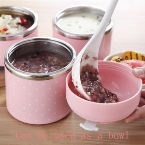 iHRtrade Multi-layer Insulated Rice Pot