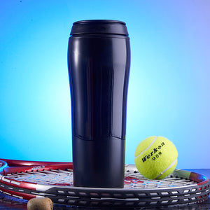 JUIANG Creative Do not pour cup Water cups Outdoor Portable Vacuum cup Male Female Student Sports Cup High Capacity 470ml A hand cup,