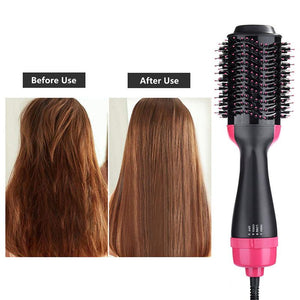 3 IN ONE-STEP HAIR DRYER & VOLUMIZER — Last day promotion 77% OFF