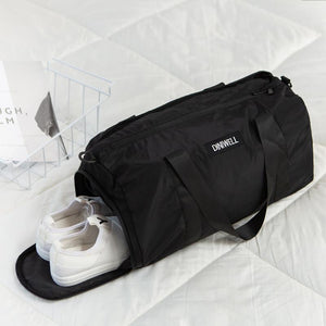 Travel Duffel Bag with Dry Wet Pocket & Shoes