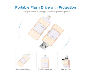 (50%OFF)iFlash USB Drive for iPhone, iPad & Android