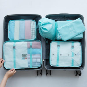 (60% OFF)-Luggage Packing Organizer Set (6 Pcs)