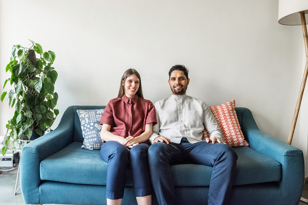 ON THE COUCH WITH: SARAH AND MANINDER OF SAFOMASI