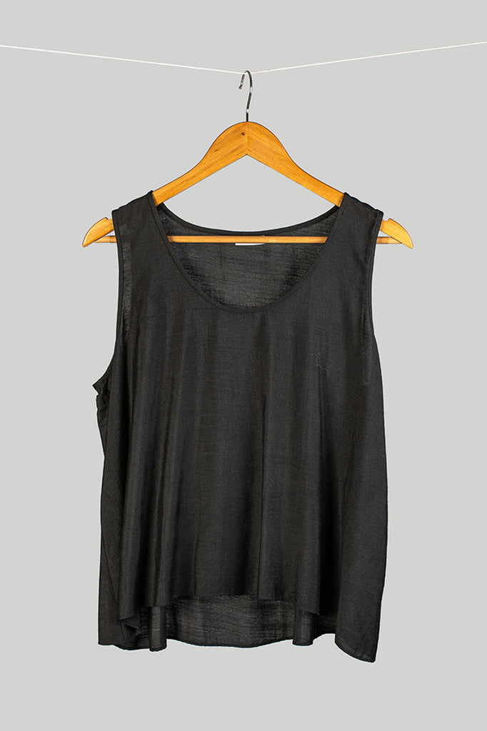 Handwoven Cotton Silk Tank