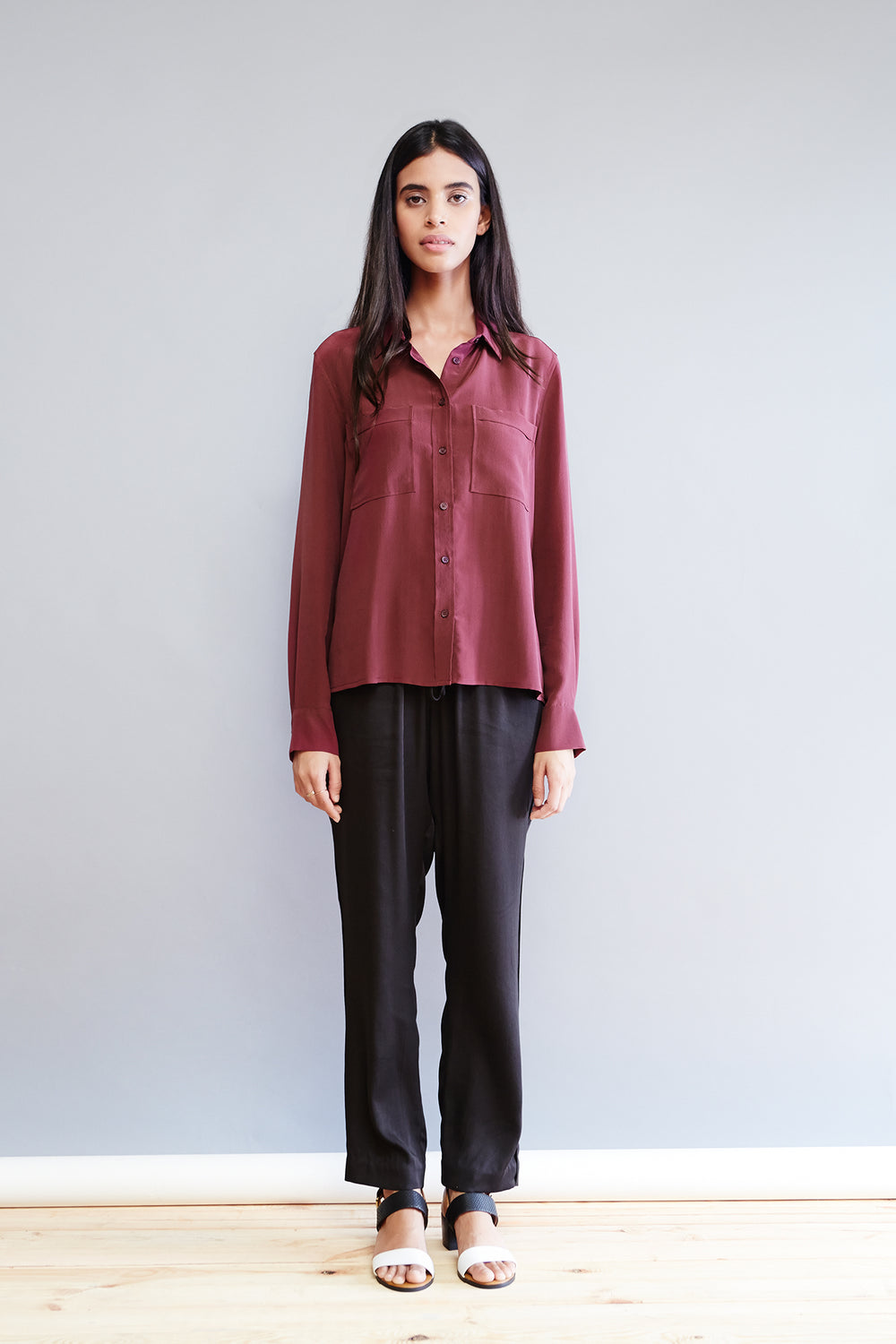 Essential Silk Blouse