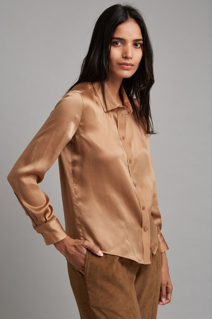 Essential Satin Blouse
