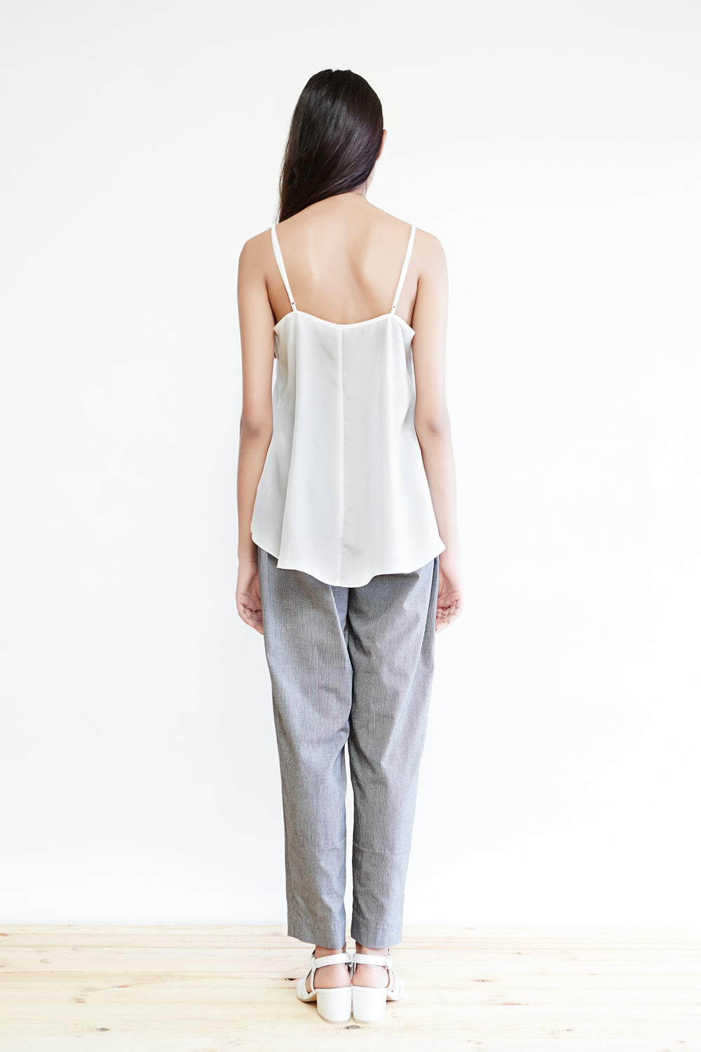 Long Silk Habotai Camisole