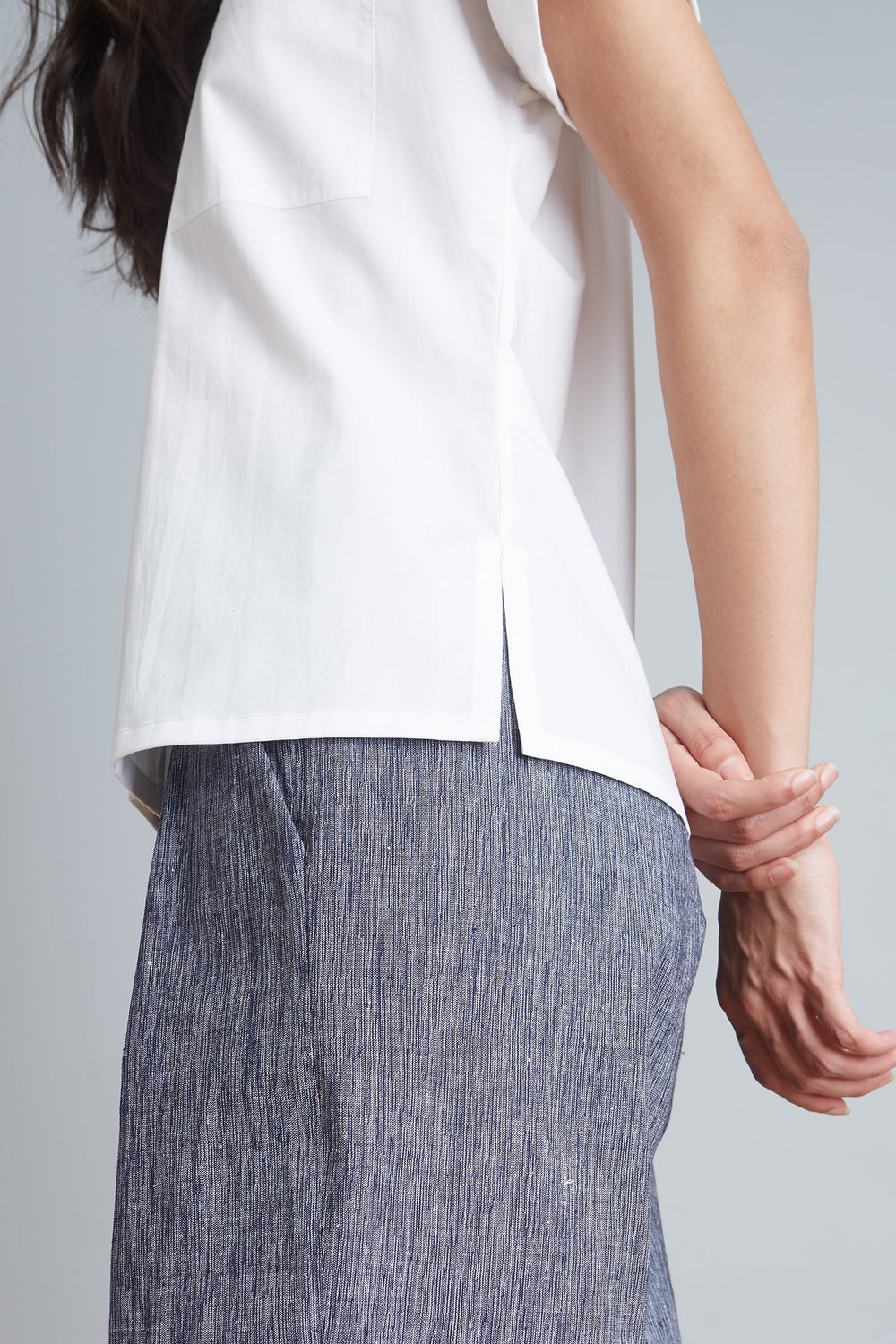 Roll Up Sleeve Top