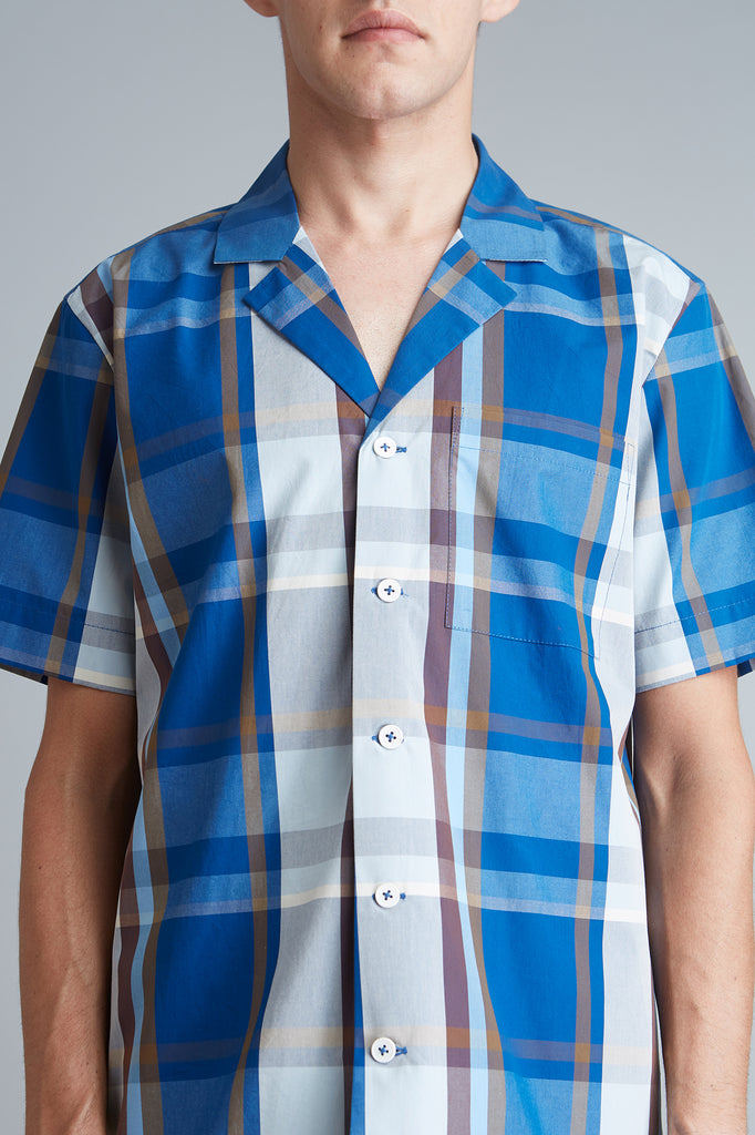Relaxed Camp Collar Shirt