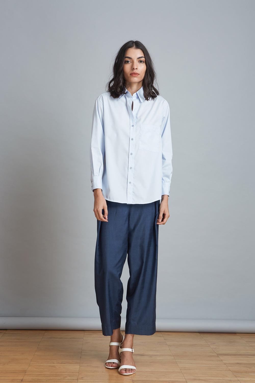 Button Front Workwear Shirt