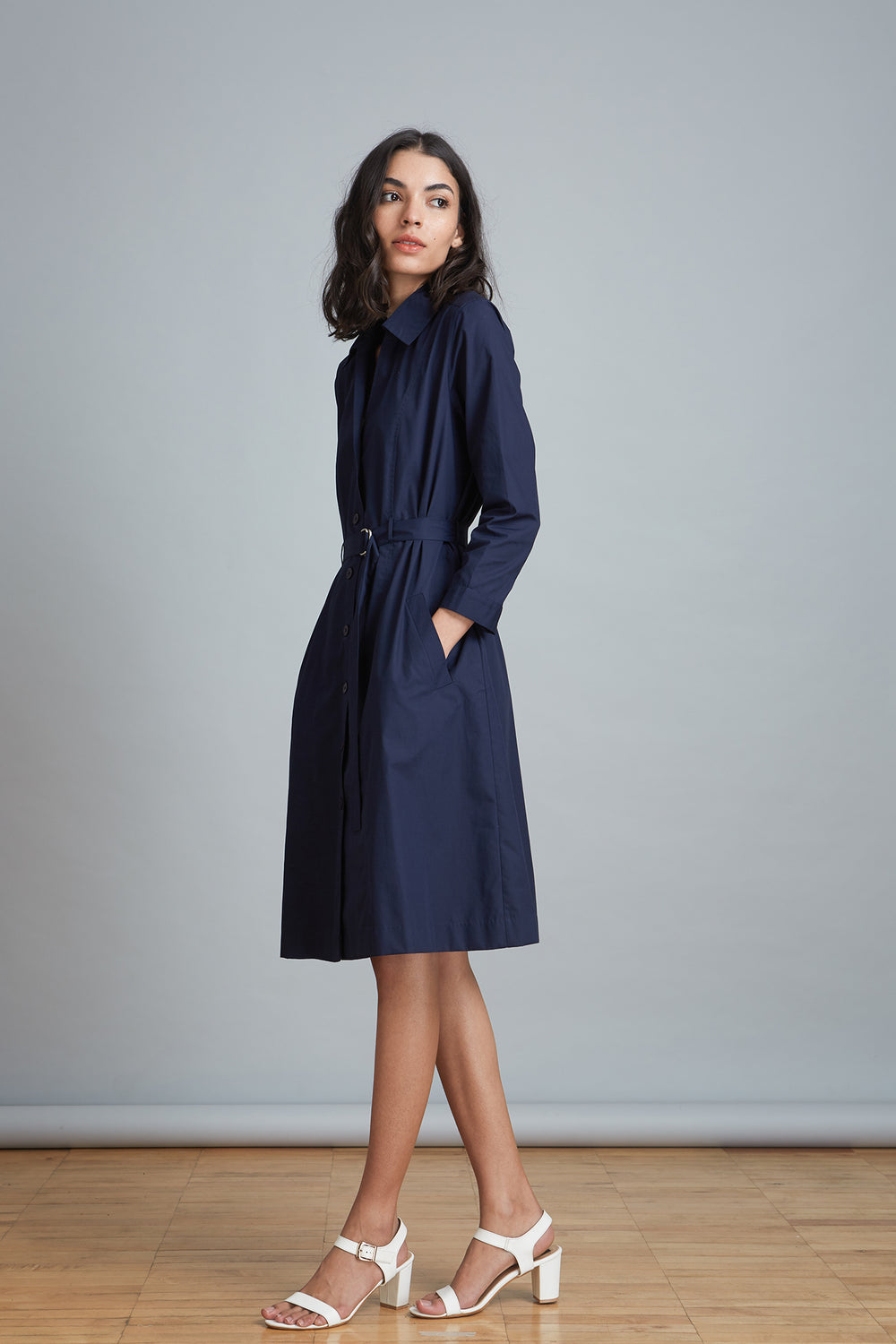 Cotton Workwear Dress