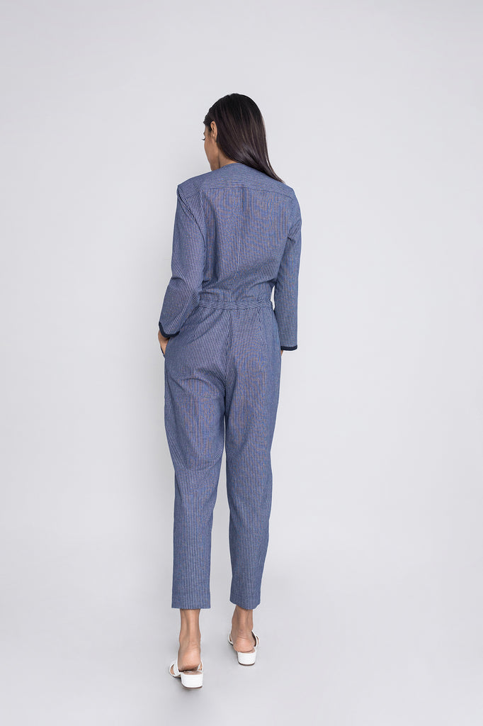 Relaxed Drawstring Jumpsuit