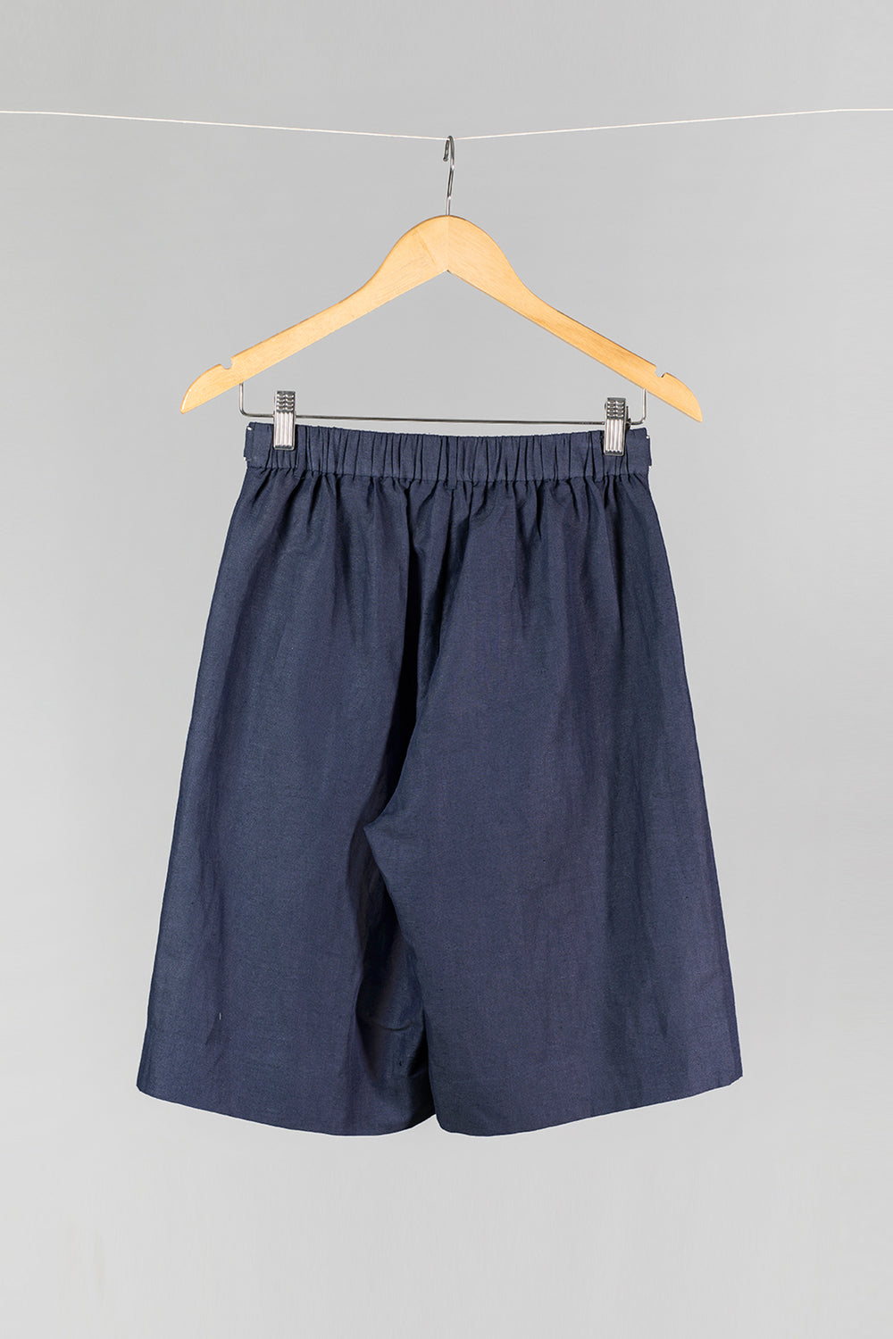 Relaxed Pleat Front Shorts