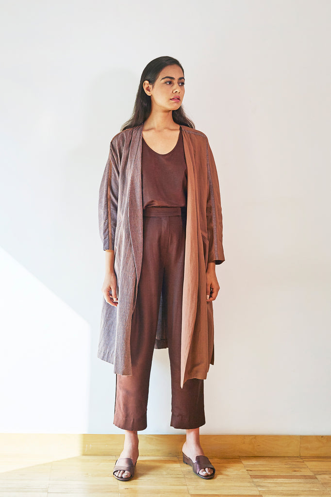 Modern Belted Trench