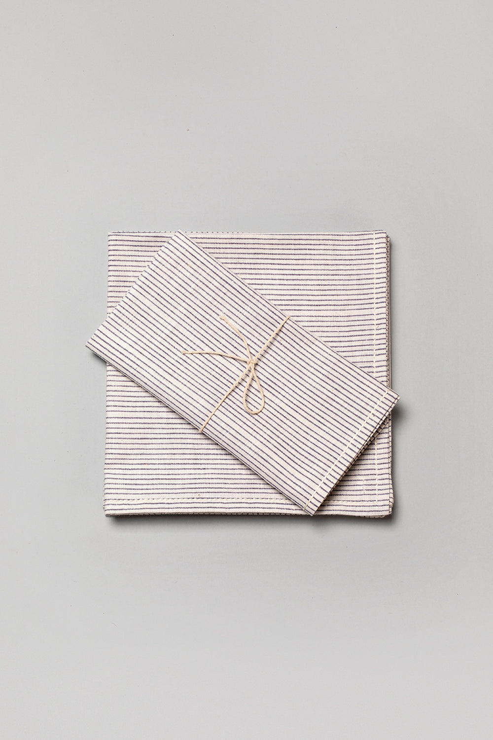 Khadi Stripe Napkin Set