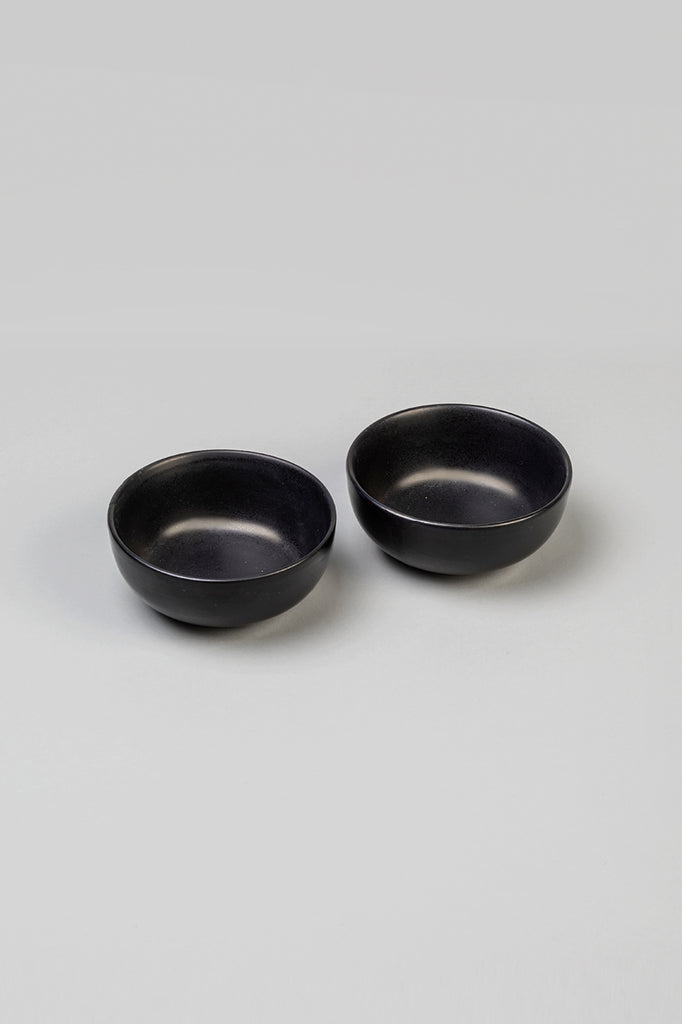 Handmade Ceramic Bowl Matte Black