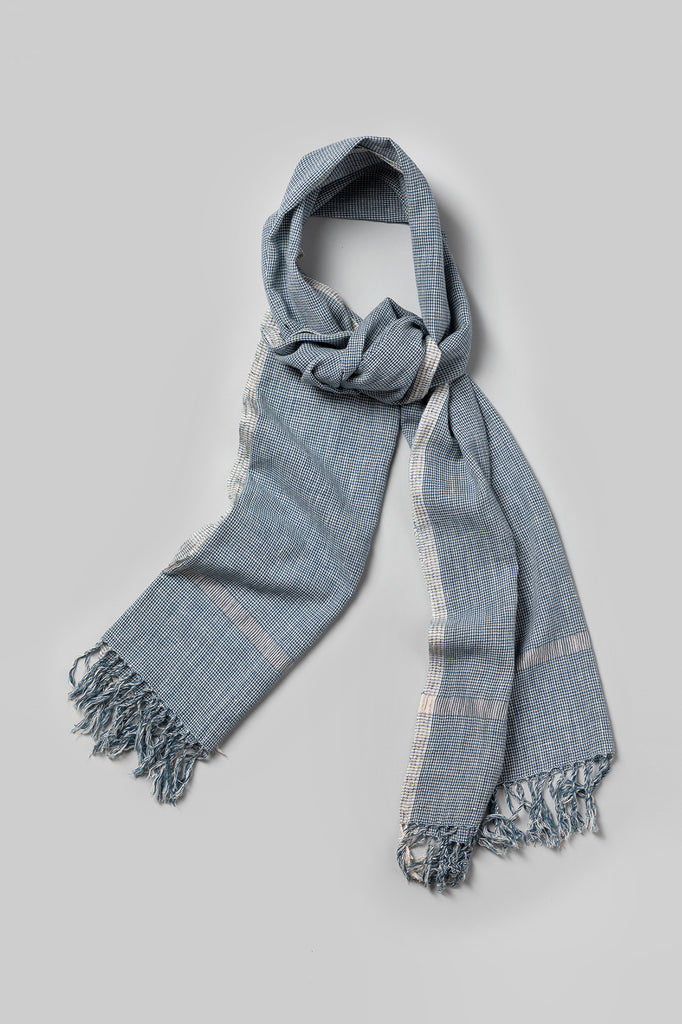 Handwoven Checks Scarf