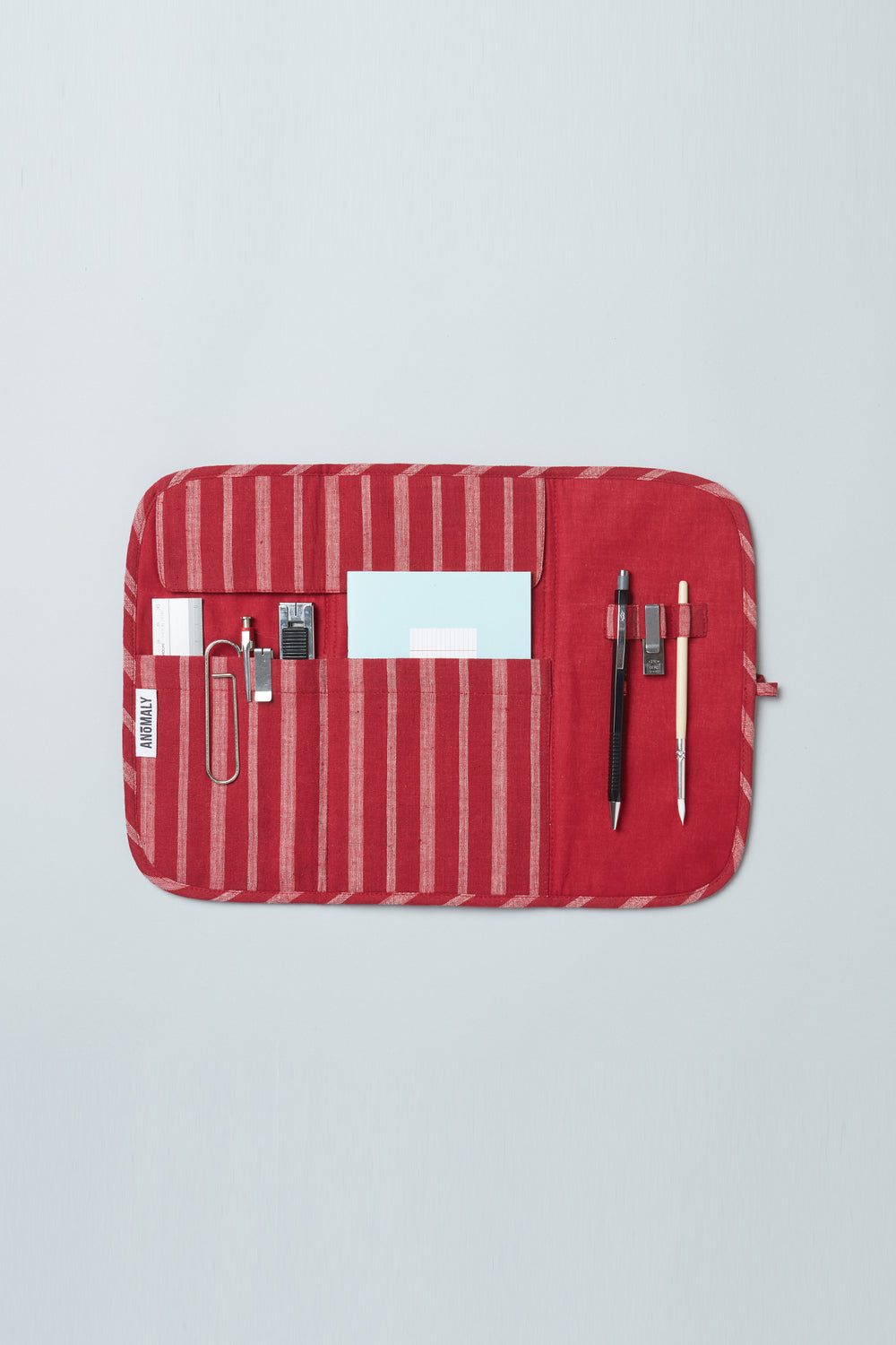 Utility Pouch - Red Stripe
