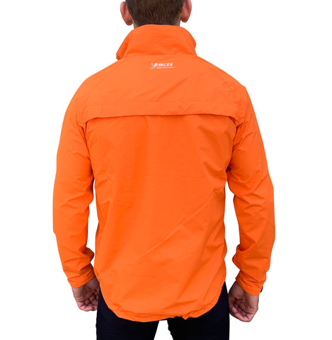 VDRY- LIGHTWEIGHT JACKET-FLURO ORANGE