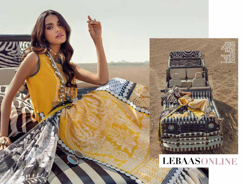 Lavish Summers with Luxury Lawn by Sana Safinaz 2021 Eclectic Collection