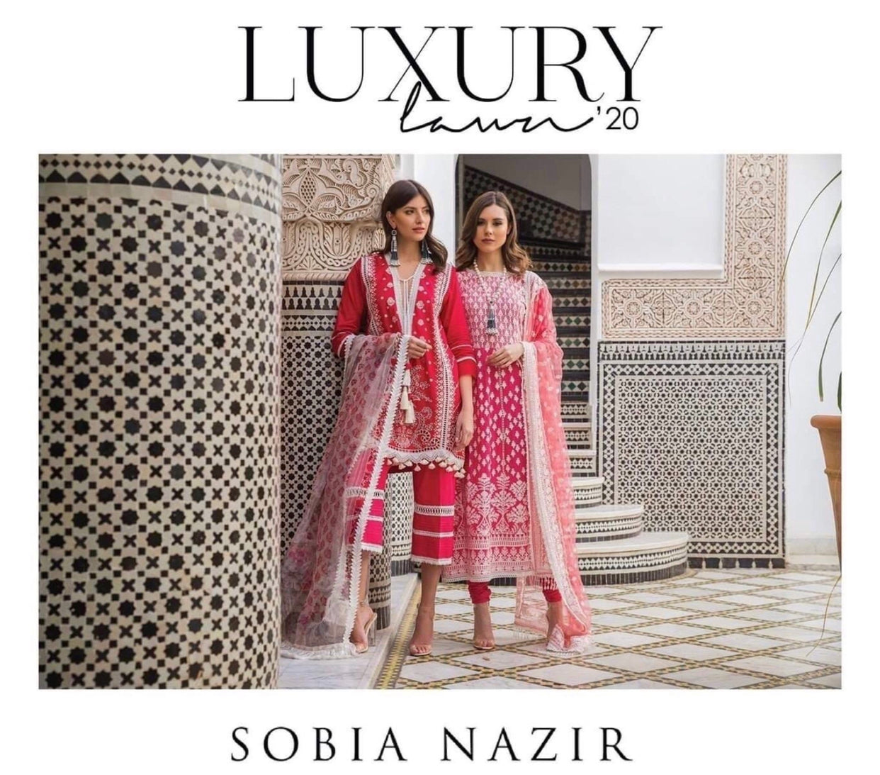 Sobia Nazir vital collection 2020 UK online