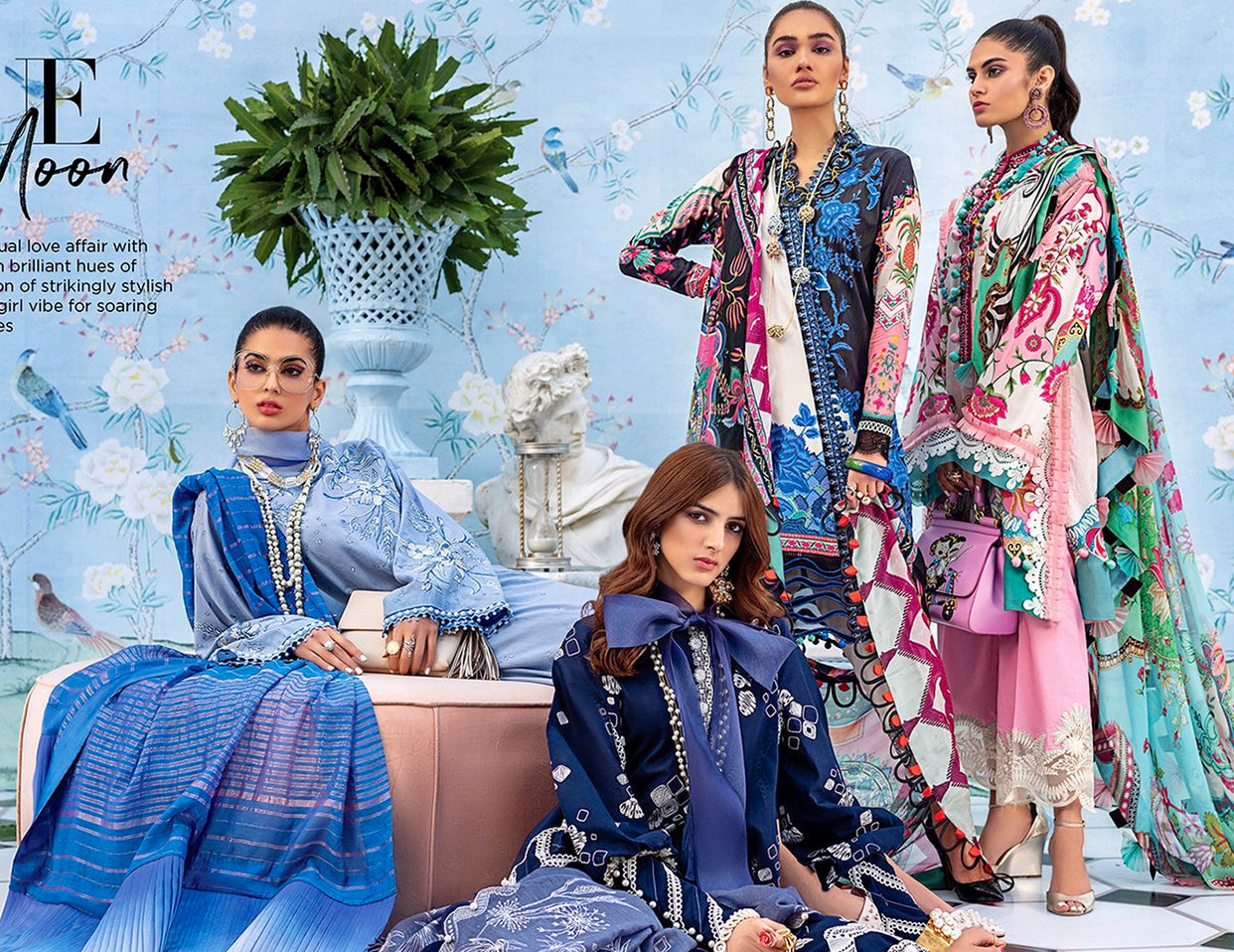 Pakistani Lawn dresses 2020